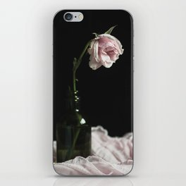 Wilted Pink Rose iPhone Skin