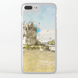 Eilean Donan Castle, Scotland Clear iPhone Case