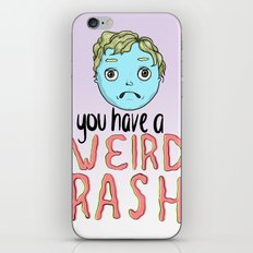 Weird Rash iPhone Skin