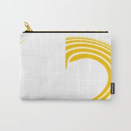 Yellow Fire1 Abstract Art By Saribelle Rodriguez Carry-All Pouch