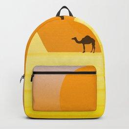 In the desert... Backpack