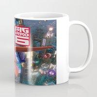 big hero 6 Mugs featuring Big Hero 6  by store2u