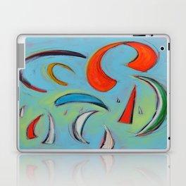 Sails & Kites in Aqua Laptop & iPad Skin