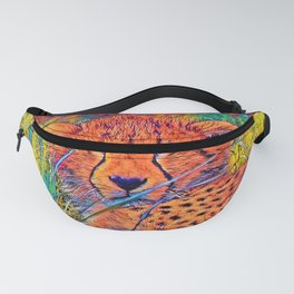 AnimalColor_Cheetah_017_by_JAMColors Fanny Pack