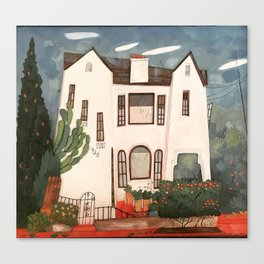920 Hoover House Canvas Print