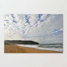 Formations in the sky Canvas Print