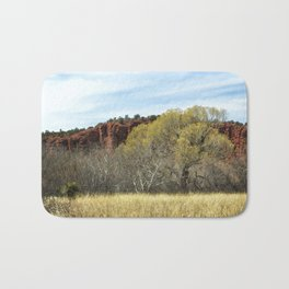 Spring at Red Rock State Park Bath Mat