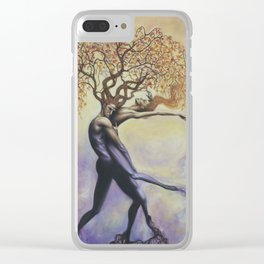 Soul Tangle Clear iPhone Case