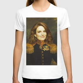 Tina Fey Classical Regal General Painting T-shirt
