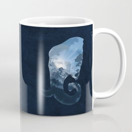 Elephants in the Night Coffee Mug