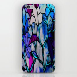 Painted Glass iPhone Skin