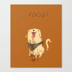food? Canvas Print