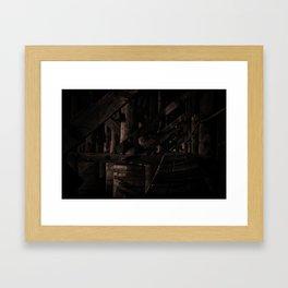 Shadows II Framed Art Print