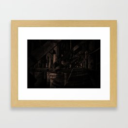 Shadows II Framed Art Print