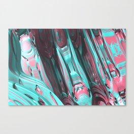 80s Candyfloss Canvas Print