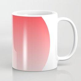 The Red Ellipse Coffee Mug