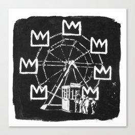 Basquiat Sign Canvas Print