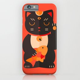 Beckoning Cat iPhone Case