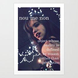 Noumenon.  Art Print
