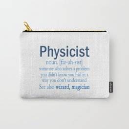 Physicist Carry-All Pouch