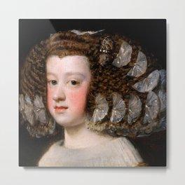 "Diego Velázquez ""María Teresa (1638-1683), Infanta of Spain"" Metal Print"