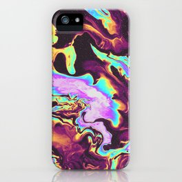 WHEN THE NIGHT IS OVER iPhone Case