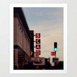 SCAD Art Print