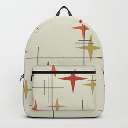Mid Century Modern Stars Backpack