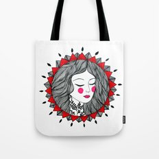 Mandala girl Tote Bag