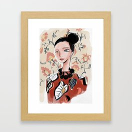 Bat Gio Framed Art Print
