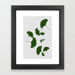 Ginkgo Leaf I Framed Art Print