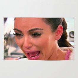 KIM K CRYING Rug