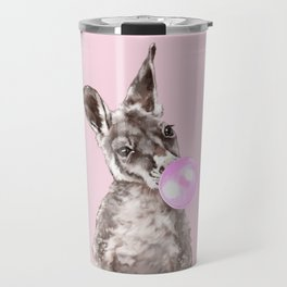 Bubble Gum Baby Kangaroo Travel Mug