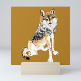 Mexican Wolf #1 Mini Art Print