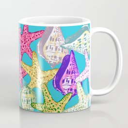 Seashells and sea stars Coffee Mug