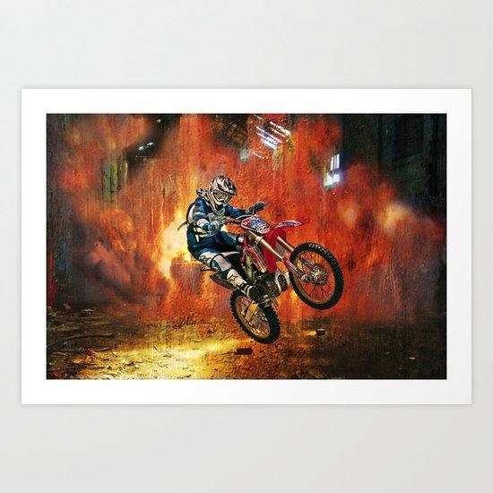 Extreme MX Art Print