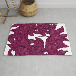 Pink Maples Rug