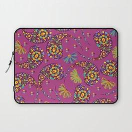 Paisley background Laptop Sleeve