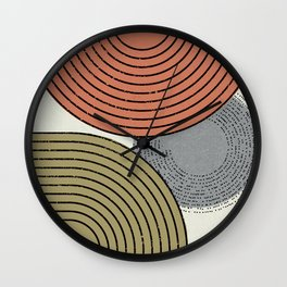 Retro Minimalist Design Wall Clock