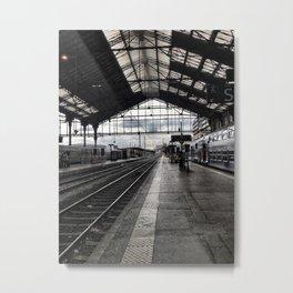 Gare de Lyon Metal Print