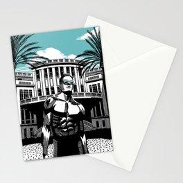 Beit Ha'ir Aqua Stationery Cards