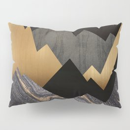 Metallic Night Pillow Sham