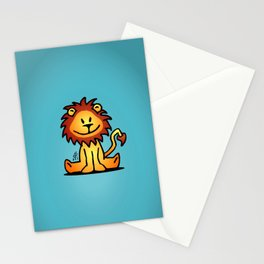 Cute little lion Stationery Cards