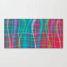 Wobble Weave Canvas Print