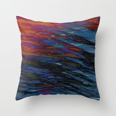 Icey Fingers Throw Pillow