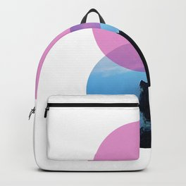 Ocean and the pink sky Backpack
