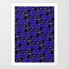 pop pattern_heavy metal Art Print
