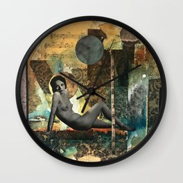 All I Know is That I Know Nothing Wall Clock