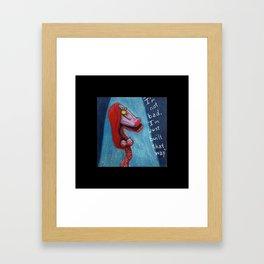 Gypsy Rabbit Framed Art Print