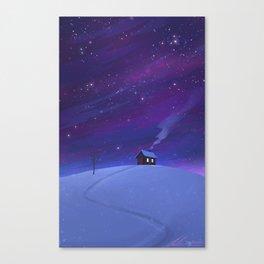 Small Cabin Canvas Print